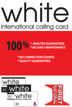 white online offer - International Calling Cards Online